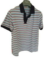 Mens uber chic PRADA short sleeve polo shirt. Size small. RRP £210