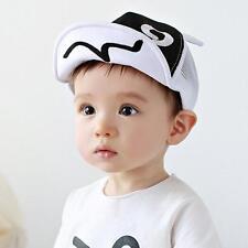 Cute Boy Girl Baby Infant Toddler Beret Cap Peaked Snapback Baseball Hat Sun hat
