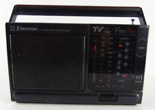 Vintage Emerson Mini Ghetto Blaster PM3911 TV FM AM Weather Tested Radio Stereo