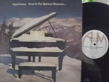 SUPERTRAMP EVEN IN THE QUIETEST OF MOMENTS LP ON AM  RECORDS