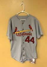 St. Louis Cardinals Pitcher Rich Batchelor Signed Game-Worn Jersey w/ JSA COA
