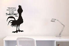Inspired by Moana Wall Decal Sticker When You Use A Chicken To Write It's Called