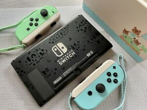 HOUSING Shell Nintendo Switch Console & Joycon - Controller Animal Crossing