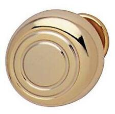 Polished Brass Knob Cabinet drawer door pull Hardware New ring design