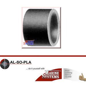 9 Stück PVC Reduzierung kurz 25x20mm