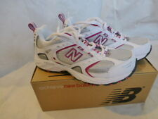 NWD WOMENS NEW BALANCE 413 ATHLETIC SHOES SNEAKERS SIZE 6.5 CW413SJ WHITE/PINK