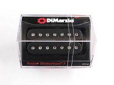 DiMarzio Super Distortion 7 String Bridge Humbucker Black W/Chrome Poles DP 712
