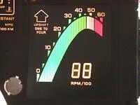 1989 89 CORVETTE DIGITAL DASH INSTRUMENT CLUSTER TACHOMETER TACH LED LCD NEW!