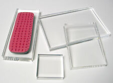 3 x 4 ACRYLIC STAMPING BLOCK  - Ultra Clear Stamp Block