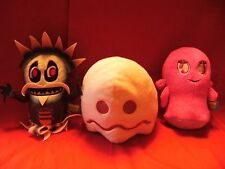 "PACMAN AND THE GHOSTLY ADVENTURES  SOFT TOYS  8 "" - 9""  APPROX TALL"