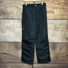 White Sierra Youth XL Bilko Pants Black Insulated Ski Snowboard Winter NEW