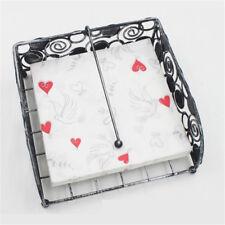 20pcs 33*33cm Red Hearts Pattern Printed Paper Napkins,100% Virgin Wood Napkin