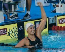 GFA Olympic Gold Medalist Swimmer * KATHLEEN BAKER * Signed 8x10 Photo COA