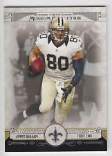 JIMMY GRAHAM 2014 Topps Museum Collection Football Base Card #85 Saints