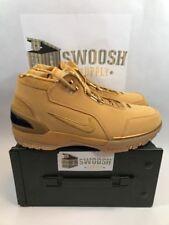 Nike Air Zoom Generation ASG QS Size 11.5 Wheat Gold AQ0110 700 Lebron Retro NIB