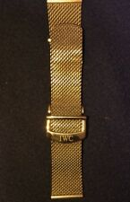 ORIGINAL IWC STAINLESS STEEL MESH BRACELET WITH A FOLDING CLASP, 22mm LUG