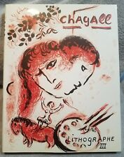 SAURET/CHAGALL LITHOGRAPH VOLUME 3 1962-1968 ENGLISH 1ST EDITION NEW OLD STOCK