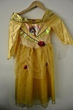 Disney Store Belle Costume Beauty and the Beast Costume dress-up 5-6 years