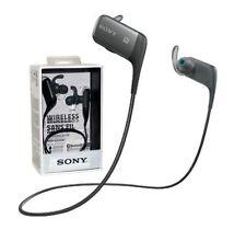 Écouteurs noir Sony bluetooth sans fil