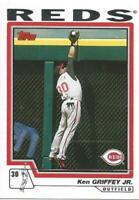2004 Topps #510 Ken Griffey Jr Cincinnati Reds Jr. Baseball Card