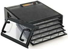 Excalibur 3500CDB Excalibur 5 Tray Deluxe Dehydrator Black With Clear Door