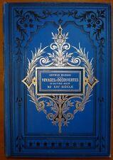 MANGIN: Voyages et découvertes outre-mer au XIX° siècle / 1883