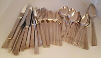 Grenoble Oneida Prestige Heirloom Silverplate Flatware 68 Piece Mixed Lot