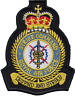 RAF Strike Command Royal Air Force MOD Crest Embroidered Patch