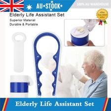 Elderly Life Assistant Pill Medicine Crusher Grinder Storage Box Can Opener 3Pcs