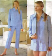 CROP PANTS Shorts Jacket UNCUT 2422 Vogue SEWING Pattern Michael Kors SZ 8-10-12