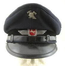 POST WW2 WWII GERMAN ARMY FEUERWEHR FIRE BRIGADE VISOR HAT NIEDERSACHSEN