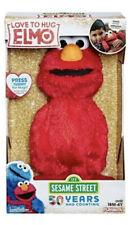 "Hasbro Sesame Street Love to Hug Elmo (E4467) 14"" Plush Singing Toy For Kids"