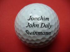 Pelota de golf con logo-Joachim piedra hombre john daly-golf logotipo pelota como recuerdo...