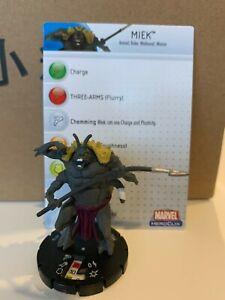 MIEK Heroclix figure Marvel Monsters & Mutations Thor NEW #016