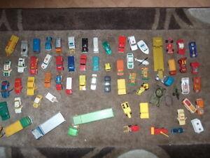 Sammlung - 64 Autos - Matchbox - Superfast - Siku - Majorette - Mattel Konvolut