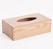 Box für Kosmetiktücher, Tuchbox, Tuchspender, Decoupage, Holz Box für Tücher