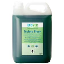 Ecover Techno Floor Cleaner 4 x 5 Ltr Kitchen Cleaning Janitorial Quick Drying
