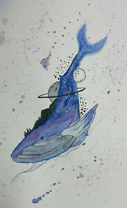 Dreams of Whale: Watercolors