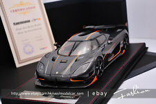 FrontiArt 1:18 Koenigsegg Agera RS Sealed Resin Model in Carbon