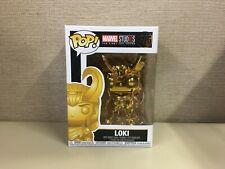Funko Pop: Marvel - Marvel Studios: The First Ten Years - Gold Chrome Loki #376