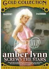 autographed AMBER LYNN SCREWS THE STARS DVD COVER w/ PIC PROOF!