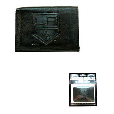 More details for los angeles kings black leather tri-fold wallet