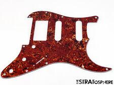 *NEW Brown Tortoise HSS FLOYD ROSE Stratocaster PICKGUARD for Fender Strat 3 Ply