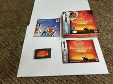 Lion King 1 1/2 (Nintendo Game Boy Advance, 2003) complete gba
