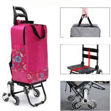 Shopping Trolley Cart Reusable Foldable Grocery Bag Portable Food Grab Luggage