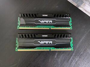 Patriot Viper 8GB Kit DDR3 1600Mhz (2x4GB)