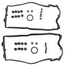 Set of 2 Valve Cover Gasket Fit For BMW E53 E60 E63 E64 E65 E66 E70 545i 745i X5