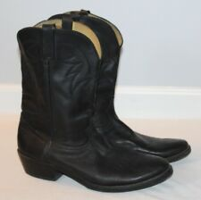 Mens Durango Rebel Western Cowboy Boots Black Leather TR760 Size 13D Rodeo Ranch