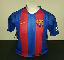 Nike Youth FC Barcelona Home Jersey, Blue/Red, Size YXL