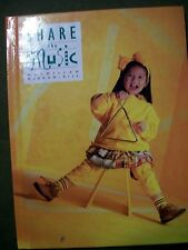 Share the Music 1st Grade by McGraw-Hill Staff (1995, Hardcover) LIKE NEW!!!!